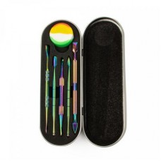 Iridescent Dabber Kit W/Silicone Vial