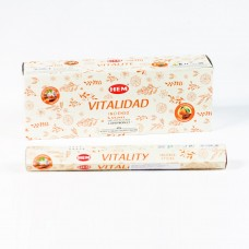 Incense - Hem Aromatherapy Vitality (Box of 120 Sticks)