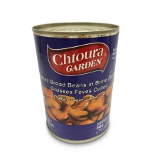 Chtoura Garden Cooked Broad Beans with Bajella (24 x 400 g)