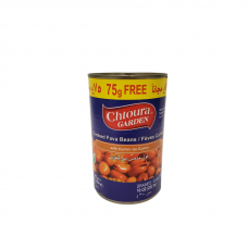 Chtoura Garden Cooked Fava Beans with Cumin (75 g Free) (24 x 475 g)