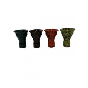 Colored Hookah Bowl - Medium Egyptian Style