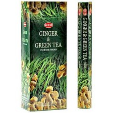 Hem Ginger & Green Tea Incense