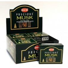 Hem Dhoop Cones - Musk Incense