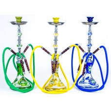Large Hookah Double Hose - Gem