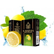 Karizma Herbal Molasses 50g - Lemon Mint