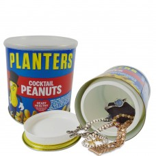 Planters Cocktail Peanuts Stash Can