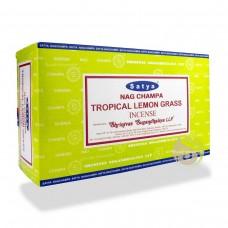 Incense - Nag Champa 15g Nag Champa & Tropical Lemon Grass Combo (Box of 12)