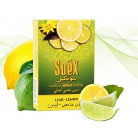 Soex Herbal Molasses 50g - Lime Lemon