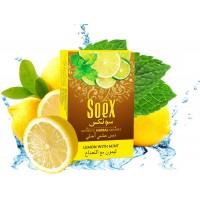 Soex Herbal Molasses 50g - Lemon with Mint