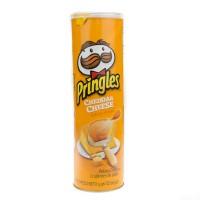 Pringles Cheddar Cheese Stash Can