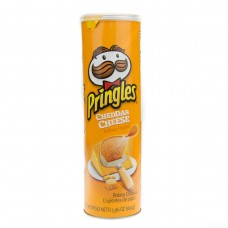 Pringles Cheddar Cheese Stash Can