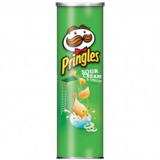 Pringles Sour Cream & Onion Stash Can