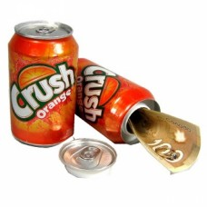 Orange Crush Stash Can