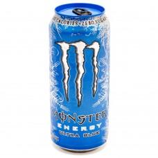 Monster Light Blue Stash Can