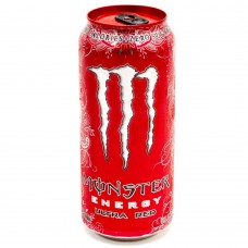 Monster Red Stash Can