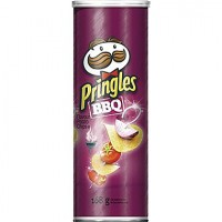 Pringles BBQ Flavored Stash Can