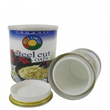 Steel Cut Oats Stash Can