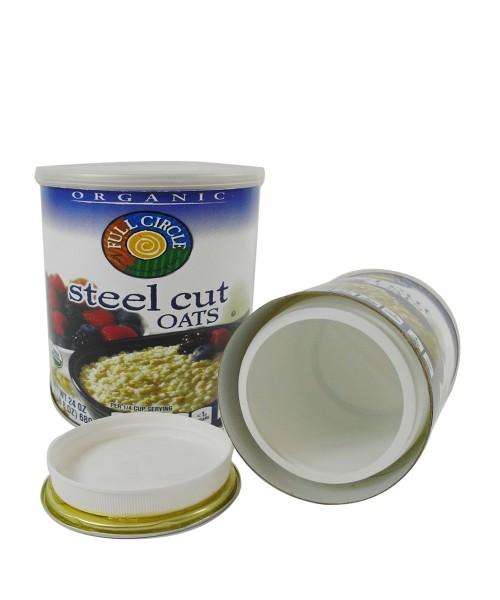 Steel Cut Oats Stash Can