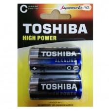 Toshiba High Power Alkaline Batteries - C (2 pack)